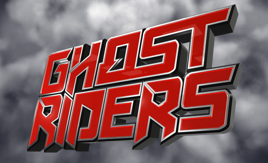 DJ Dyna / Ghostriders web / design