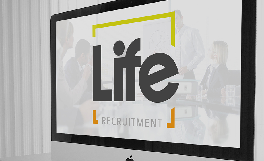 Life Recruitment web / design / print / branding